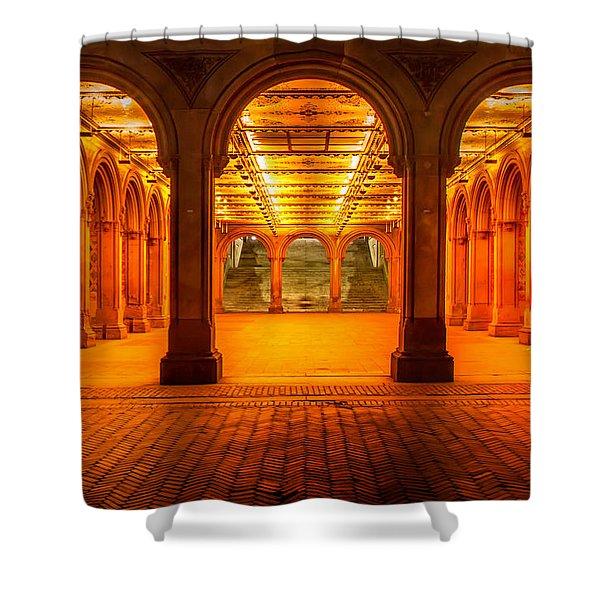 Eternal Spirit Shower Curtain