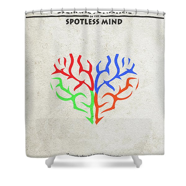 Eternal Sunshine Of The Spotless Mind - Alternative And Minimalist Poster Shower Curtain