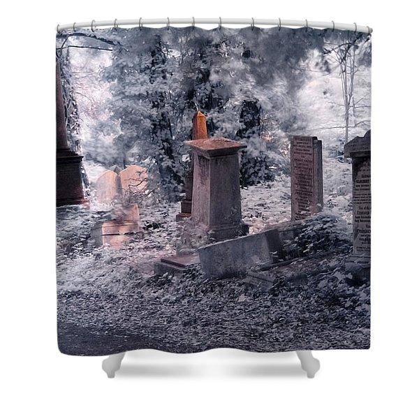 Ethereal Walk Shower Curtain
