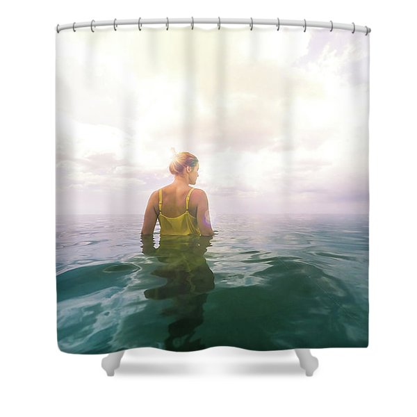 Eutierria Shower Curtain