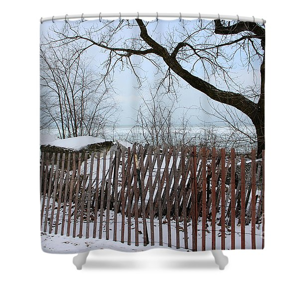 Evanston Winter Shower Curtain