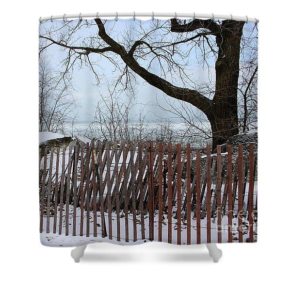 Evanston Winter Shower Curtain