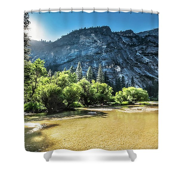 Eve Approaches- Shower Curtain