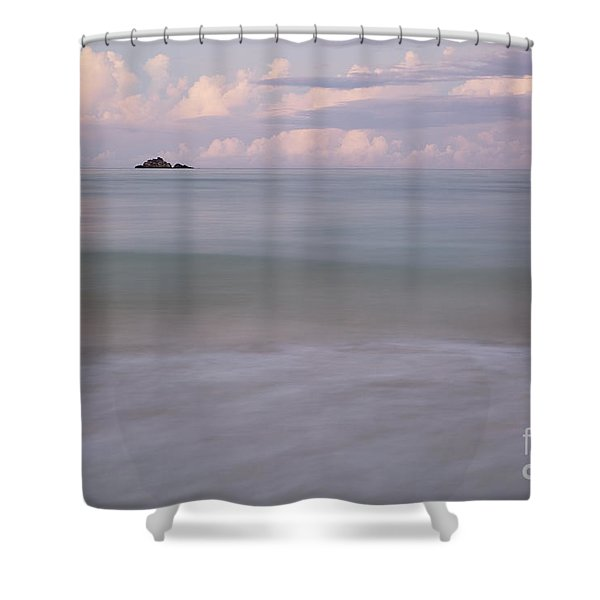 Evening At Mokulea Rock Shower Curtain
