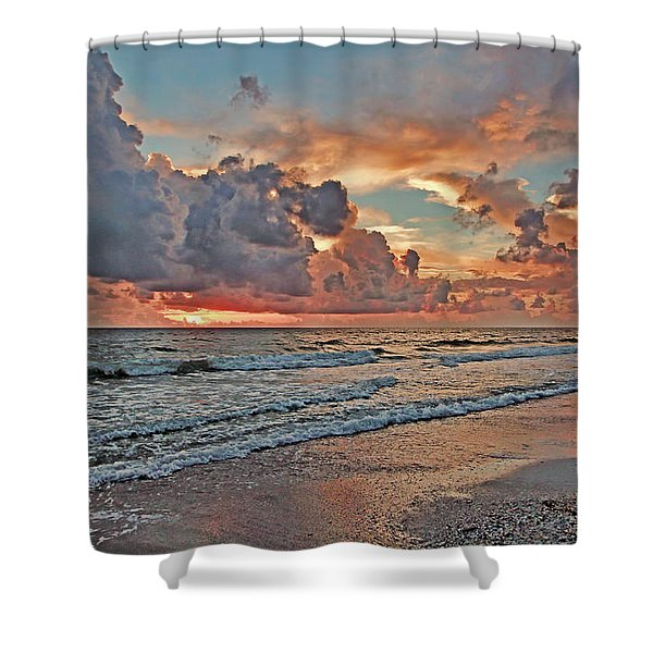 Evening Clouds Shower Curtain