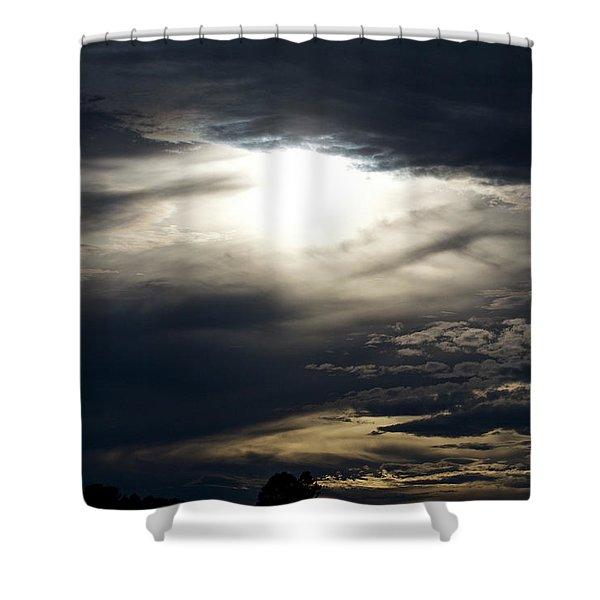 Shower Curtain featuring the photograph Evening Eye by Jason Coward