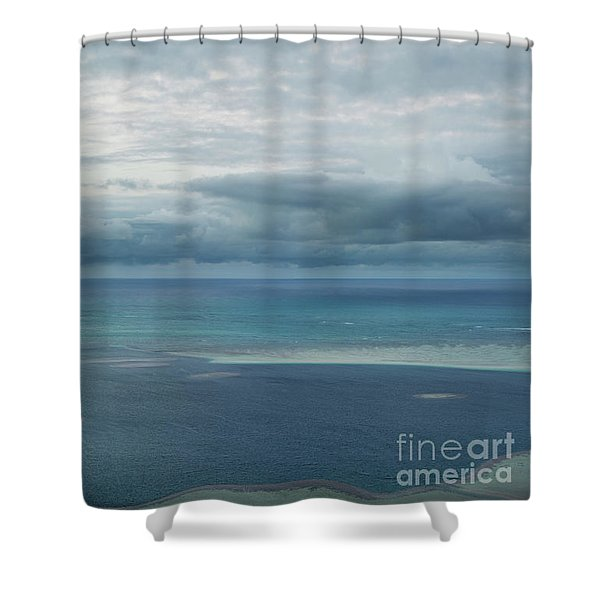 Evening Horizon Kaneohe Bay Shower Curtain