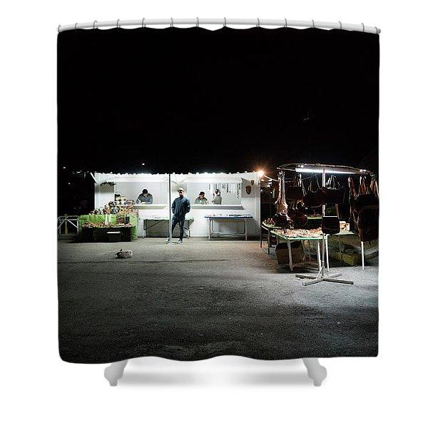 Evening Sales Shower Curtain