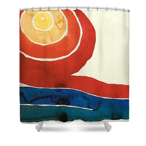 Evening Star IIi Shower Curtain