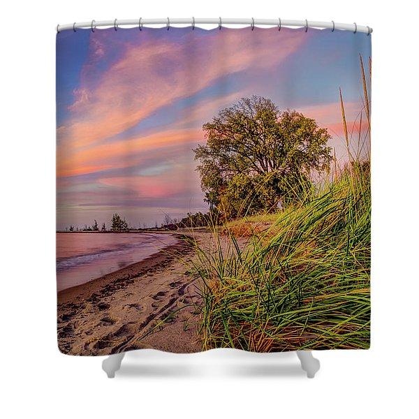 Evening Sunset Shower Curtain