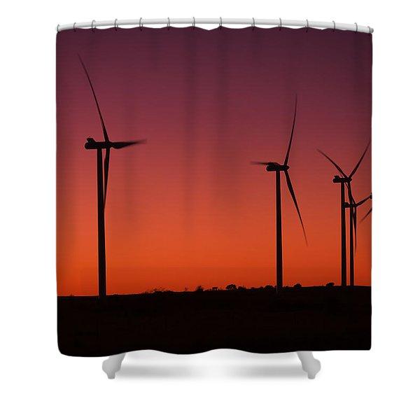 Evening Wind Shower Curtain