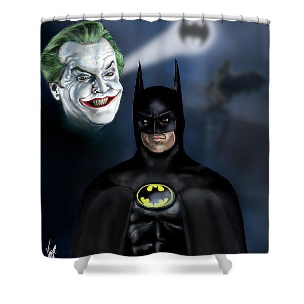 Ever Dance With The Devil In The Pale Moonlight? Shower Curtain