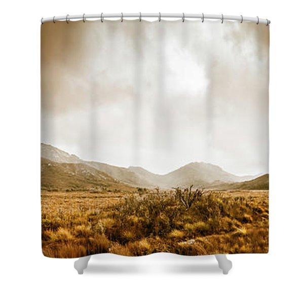 Ever Expansive Tasmania Shower Curtain
