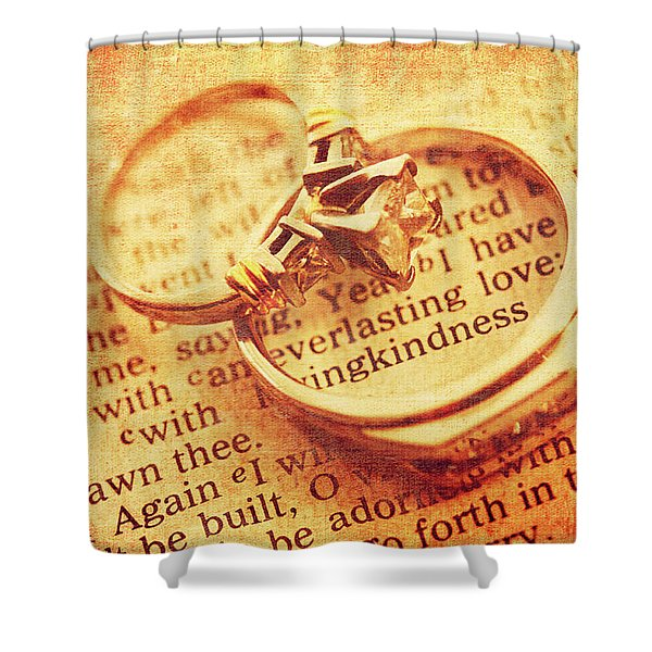 Everlasting Love Shower Curtain