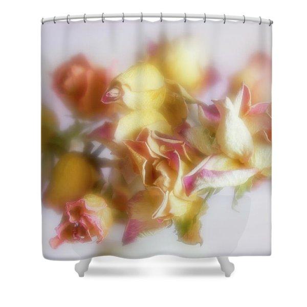 Everlasting Rose Buds Shower Curtain