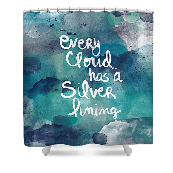 Every Cloud Shower Curtain