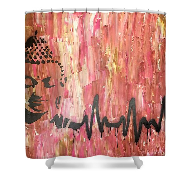 Everything Is Energy Shower Curtain