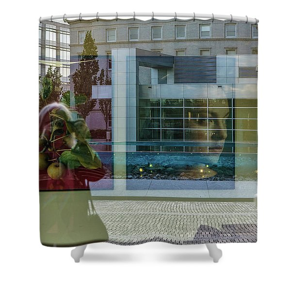 Everything Is Inside Out Shower Curtain