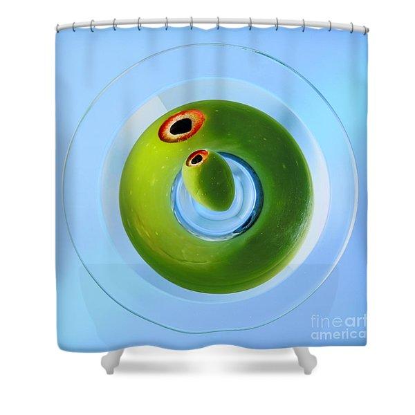Olive Eye Shower Curtain