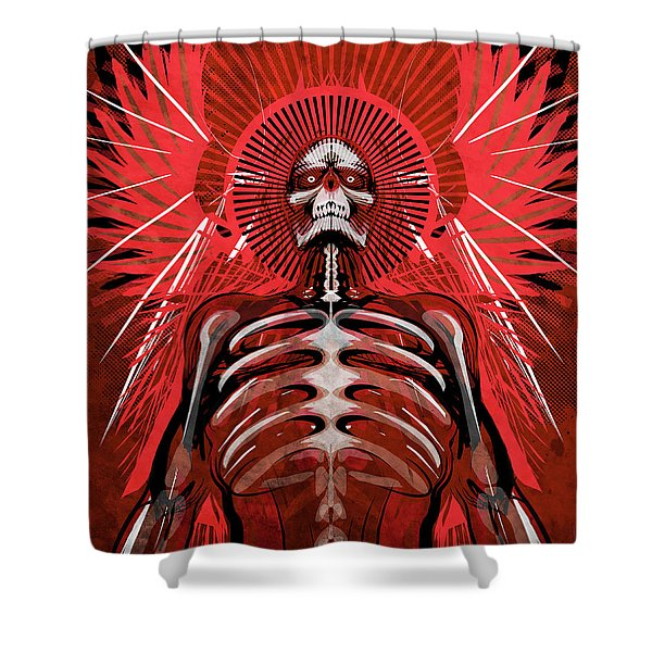 Excoriation Shower Curtain