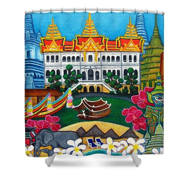 Exotic Bangkok Shower Curtain