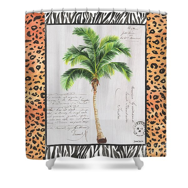 Exotic Palms 1 Shower Curtain