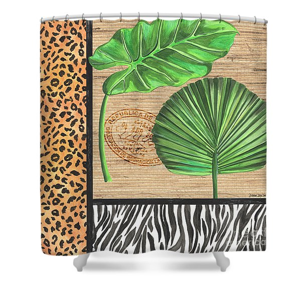 Exotic Palms 2 Shower Curtain