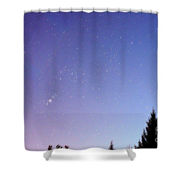 Expanding Sky Shower Curtain