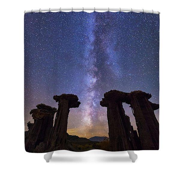 Exploration  Shower Curtain