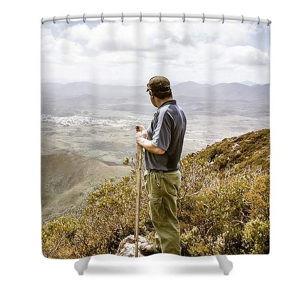 Explore Tasmania Shower Curtain