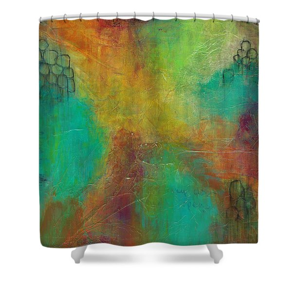 Exploring Color  Shower Curtain