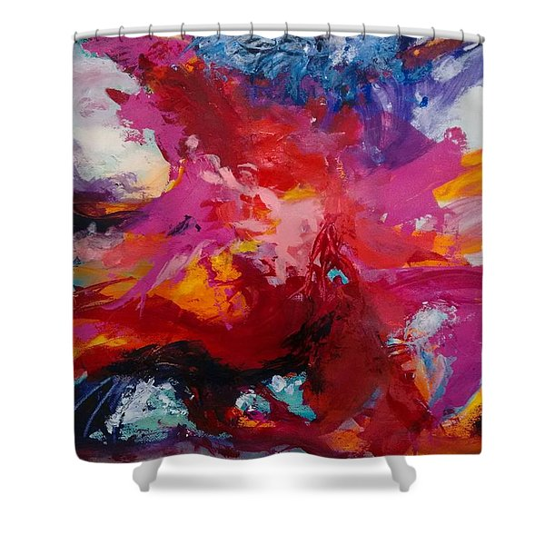 Exploring Forms Shower Curtain