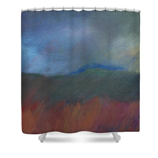 Explosion Nearby Shower Curtain
