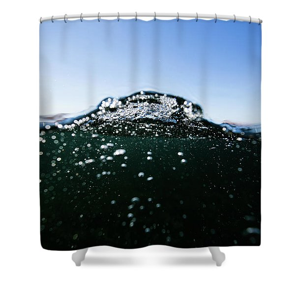 Expressive Water Shower Curtain