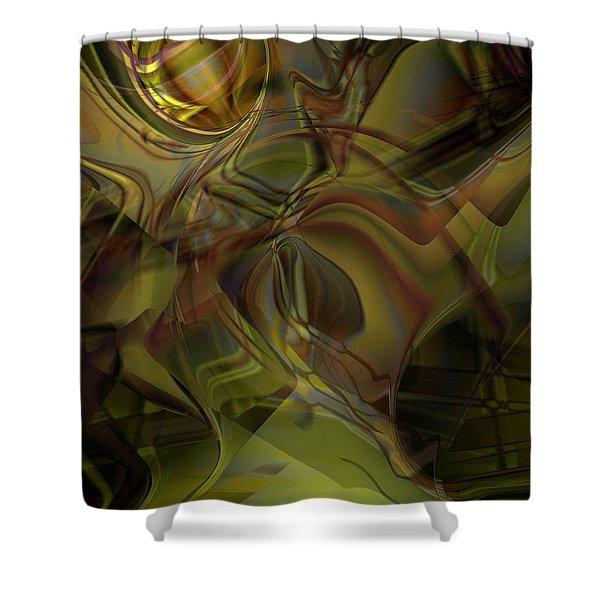 Extraterium Shower Curtain