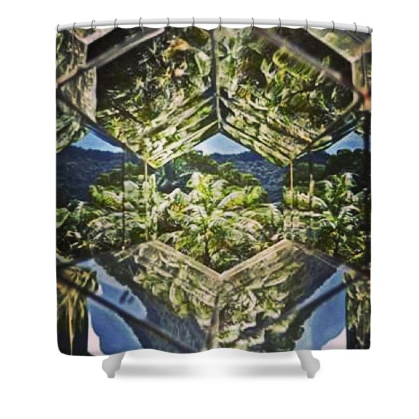 Exuberante Mata De #brumadinho Mg Vista Shower Curtain