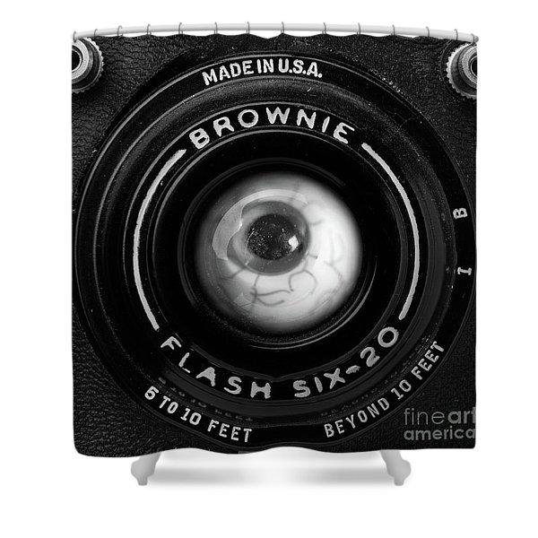 Eye Am A Camera Surreal Photography Shower Curtain