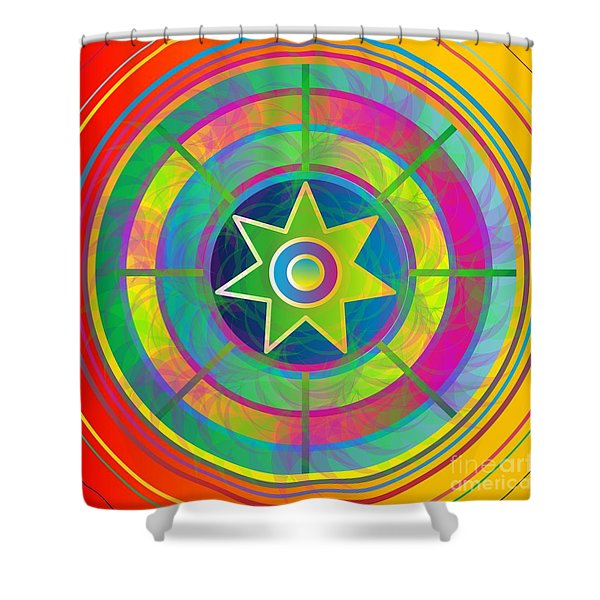 Eye Of Kanaloa 2012 Shower Curtain