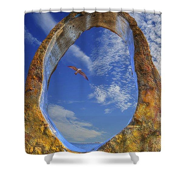 Eye Of Odin Shower Curtain