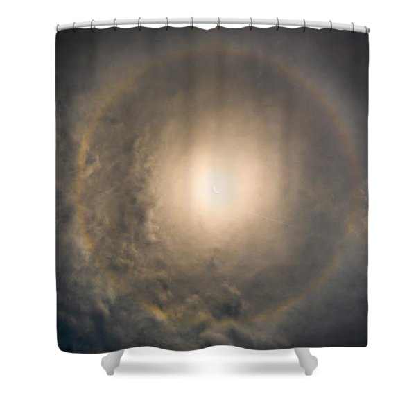 Eye Of The Eclipse Shower Curtain