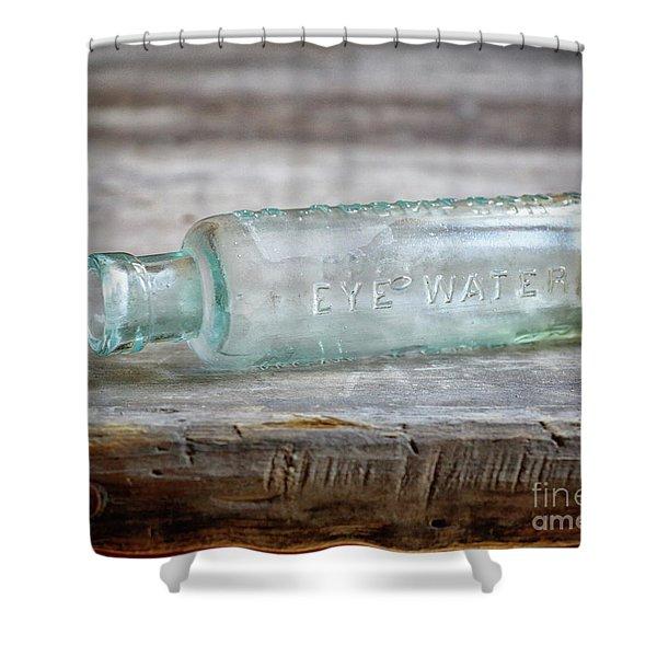 Eye Water Shower Curtain