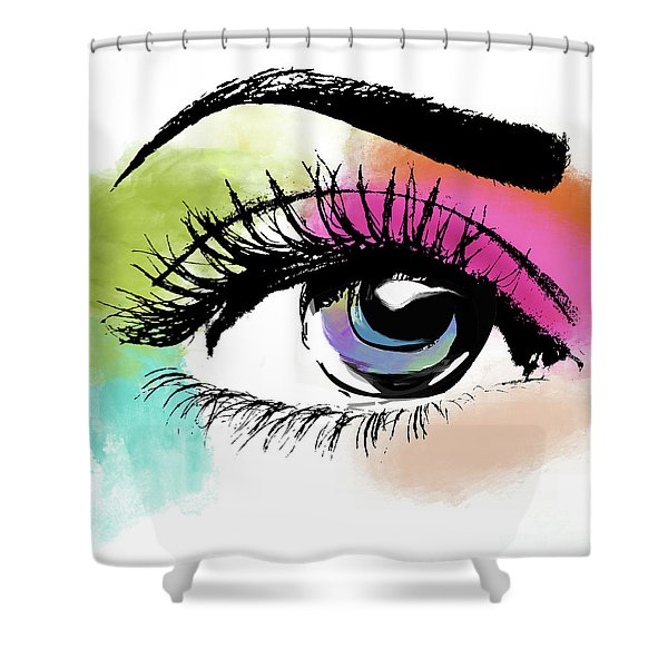 Eyeful Shower Curtain