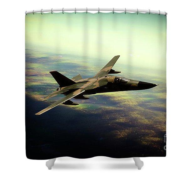 F-111 Aarvark Shower Curtain