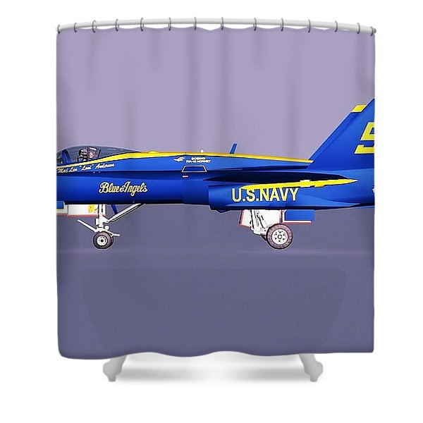 F18 Super Hornet Shower Curtain