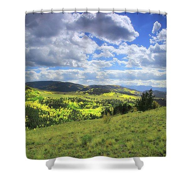 Faafallscene103 Shower Curtain