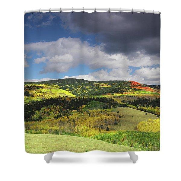 Faafallscene105 Shower Curtain