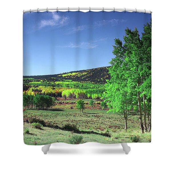 Faafallscene106 Shower Curtain