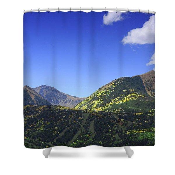 Faafallscene107 Shower Curtain