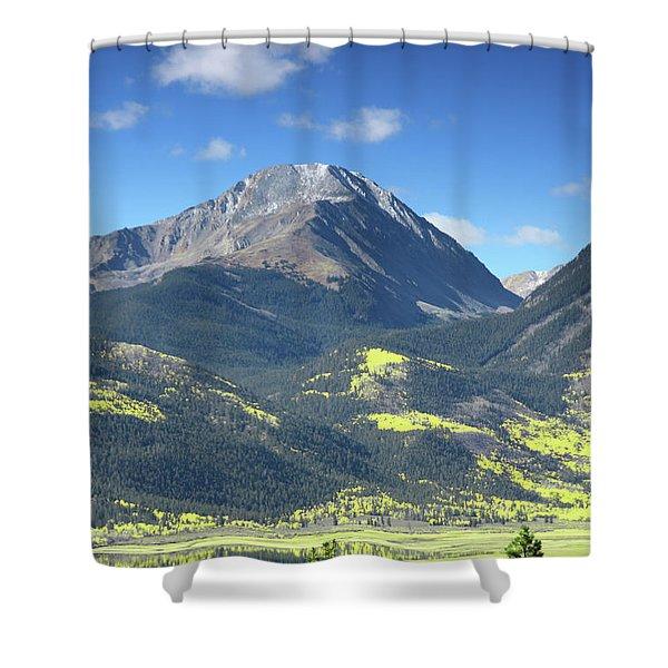 Faafallscene109 Shower Curtain