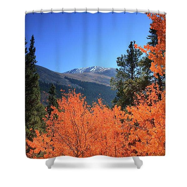 Faafallscene110 Shower Curtain